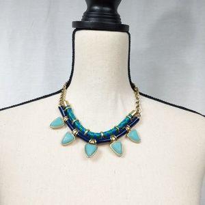 J. Crew Gemstone Rope Egyptian Necklace
